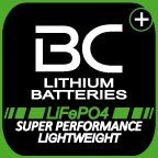Logo batterie BC Lithium Batteries